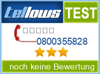tellows Bewertung 0800355828