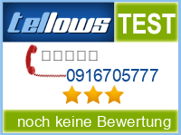 tellows Bewertung 0916705777
