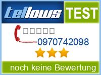 tellows Bewertung 0970742098