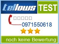 tellows Bewertung 0971550618