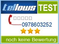 tellows Bewertung 0978603252