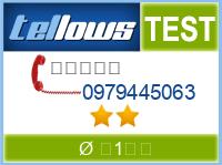 tellows Bewertung 0979445063