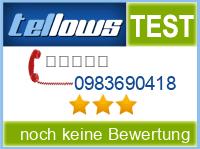tellows Bewertung 0983690418