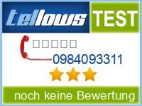 tellows Bewertung 0984093311
