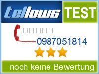 tellows Bewertung 0987051814